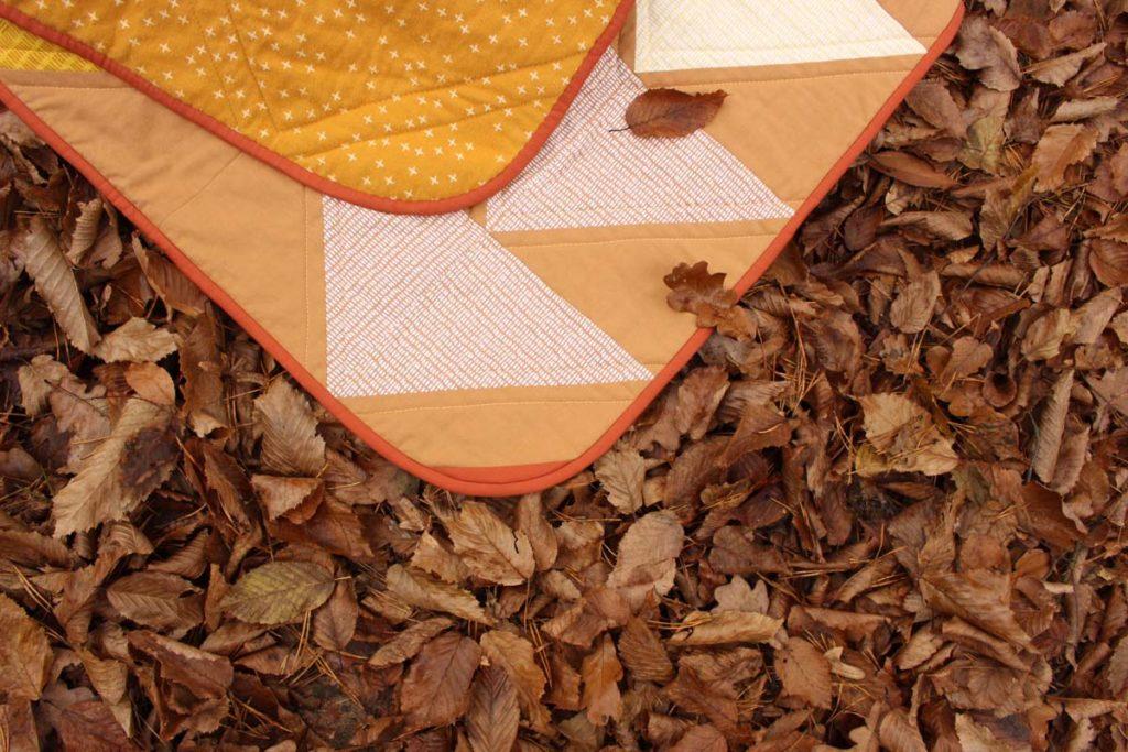 quilt z flanelą
