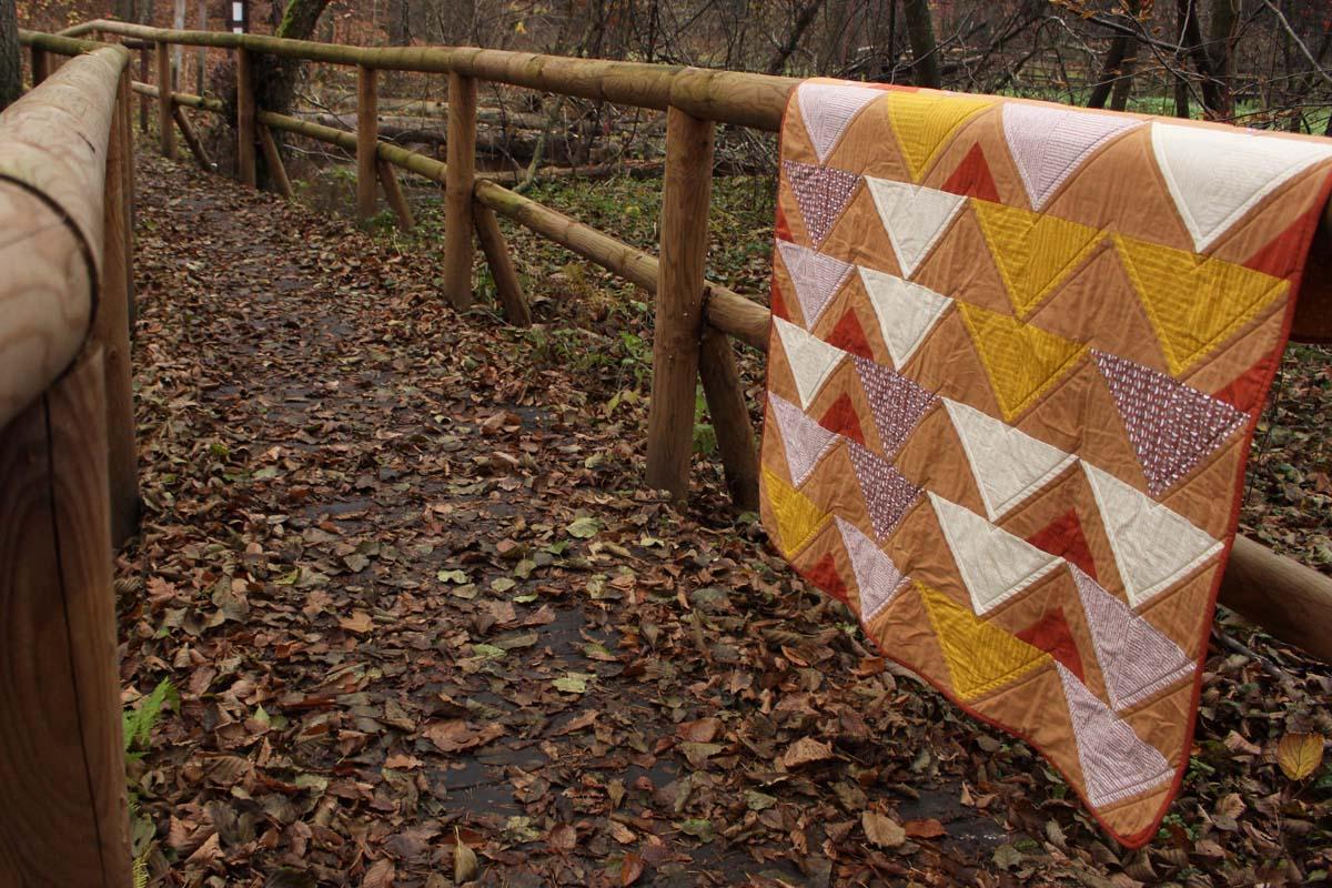 quilt miodowy jesienny