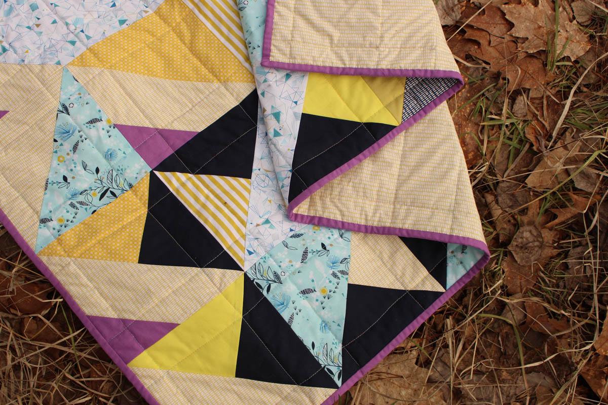 patchwork z tkanin ikea